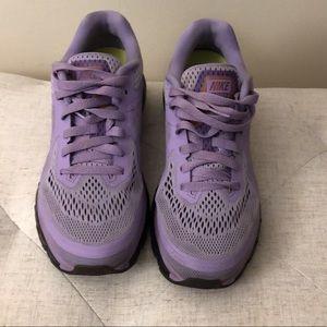 Lavender air max's 💜